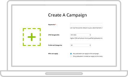 Create an ads campaign